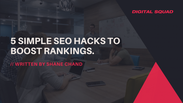 5 Simple SEO Hacks to Boost Rankings.