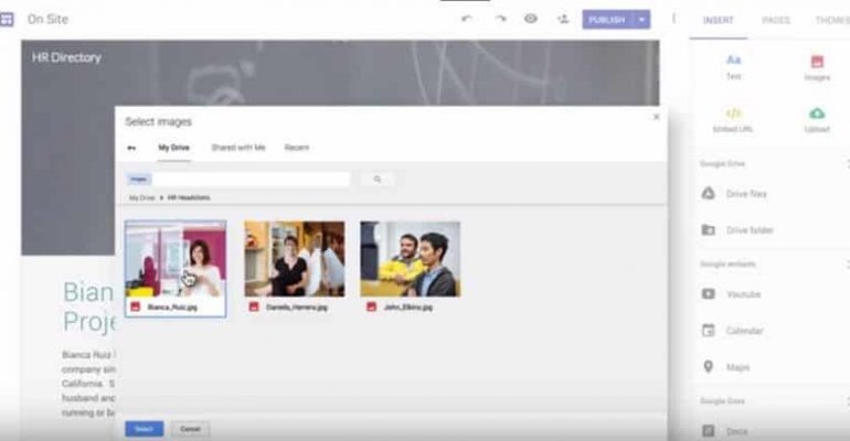 Introducing the New Google Sites (Who used old one?)