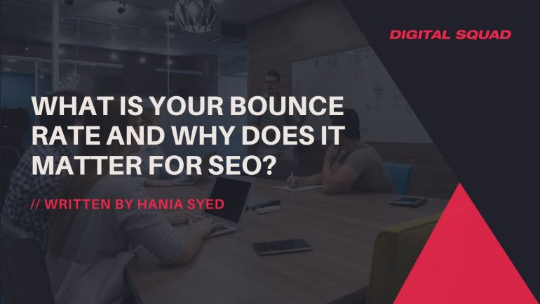 What is your Bounce Rate and Why Does it Matter for SEO?