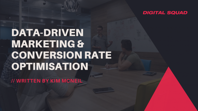 Data-Driven Marketing & Conversion Rate Optimisation