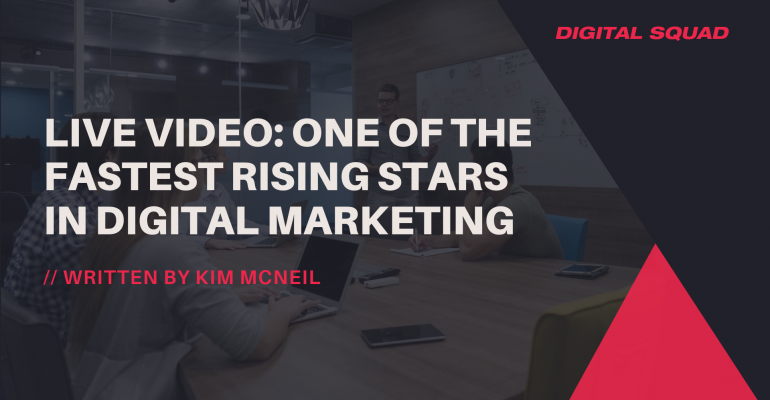 Live Video: One of the Fastest Rising Stars in Digital Marketing