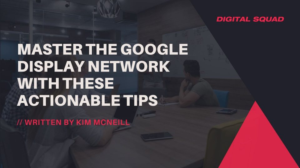 google display network best practices
